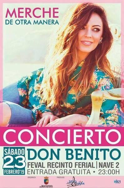 Concierto: MERCHE | Don Benito