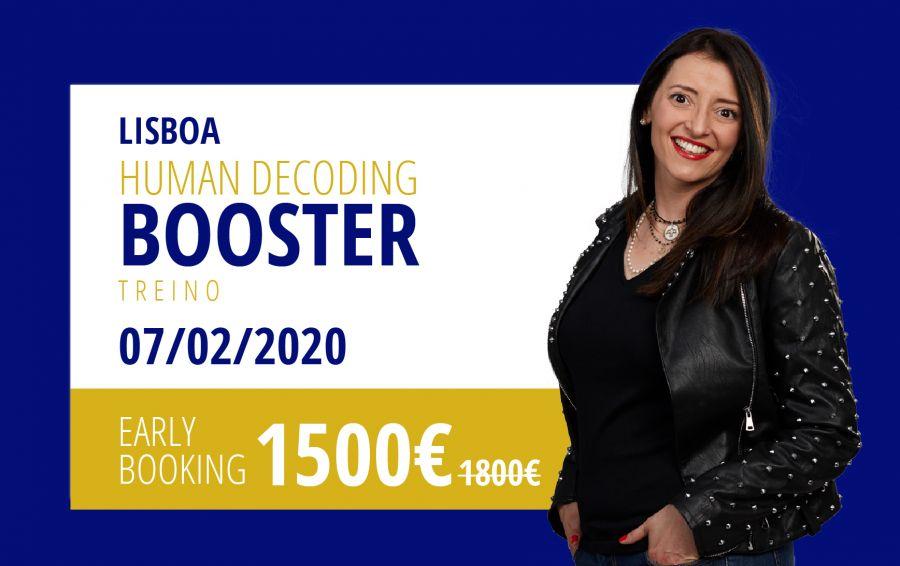 Human Decoding Booster (Nível 1) com Susana Areal - Lisboa