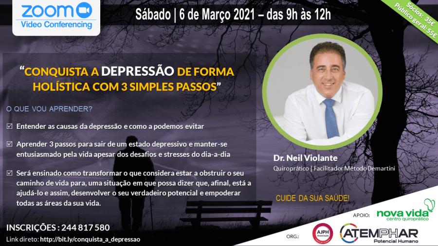 CONQUISTA A DEPRESSÃO DE FORMA HOLÍSTICA COM 3 SIMPLES PASSOS