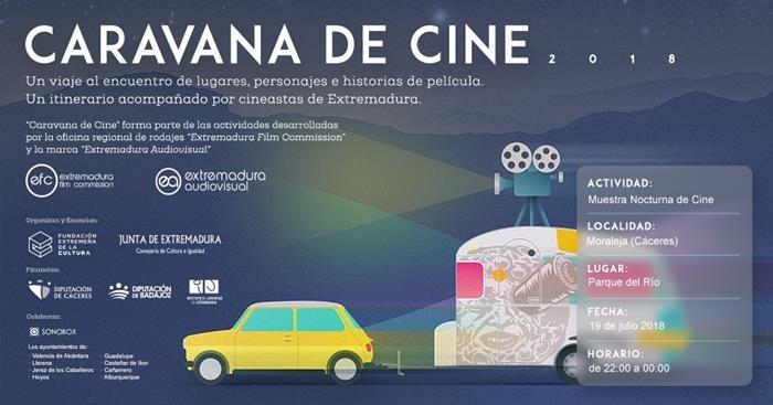 Muestra Nocturna de Cine en Moraleja // CARAVANA DE CINE