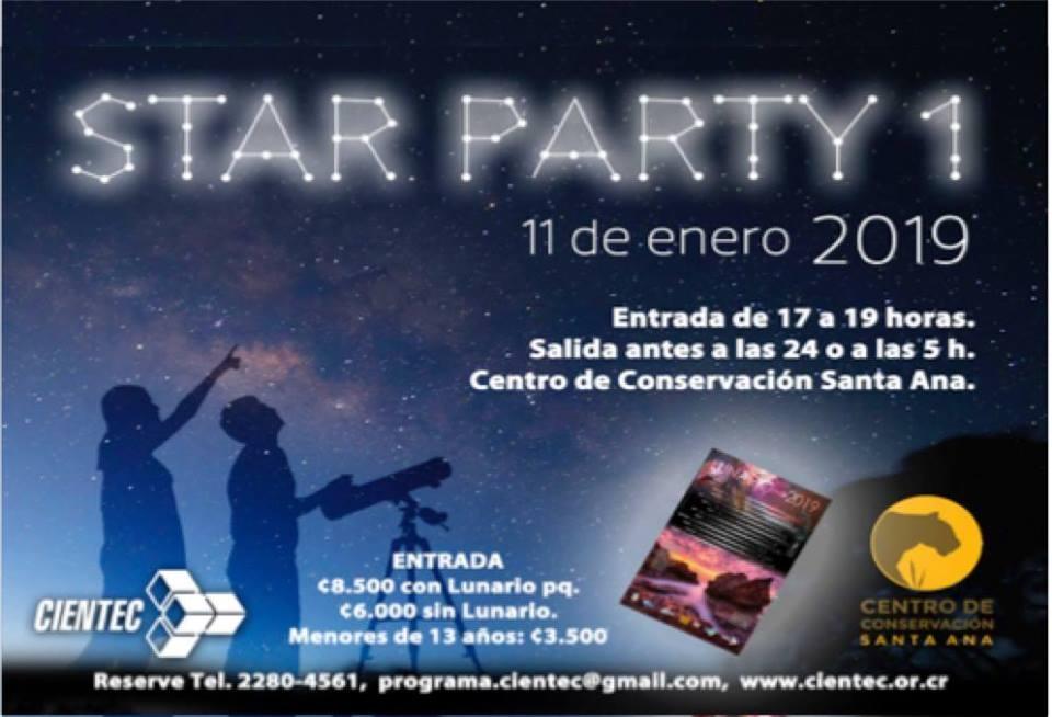 I fiesta de estrellas 2019. Cientec