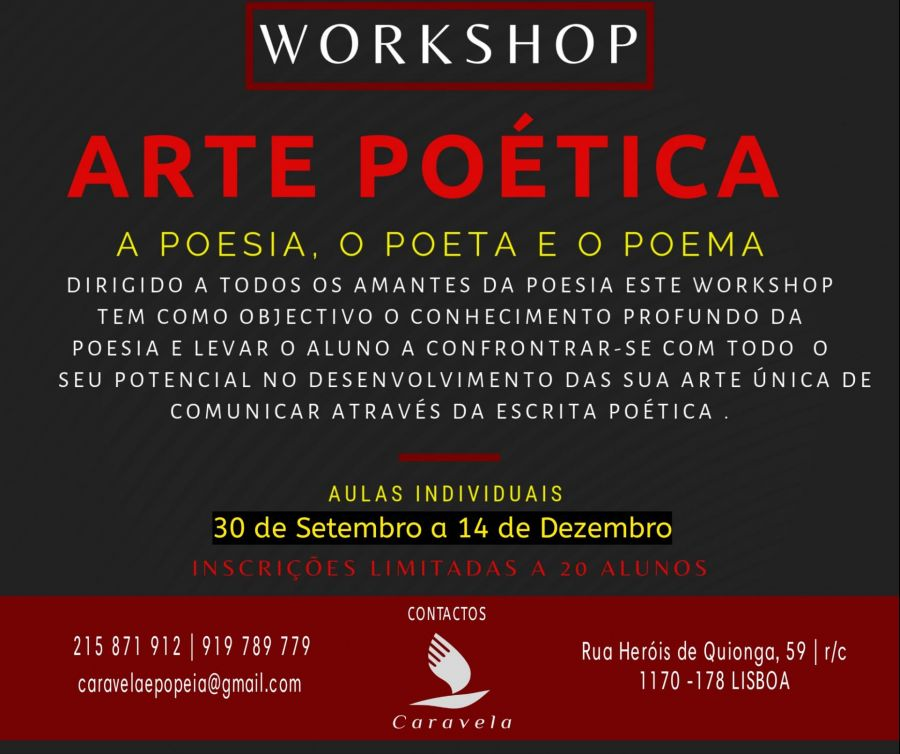 Workshop - Arte Poética