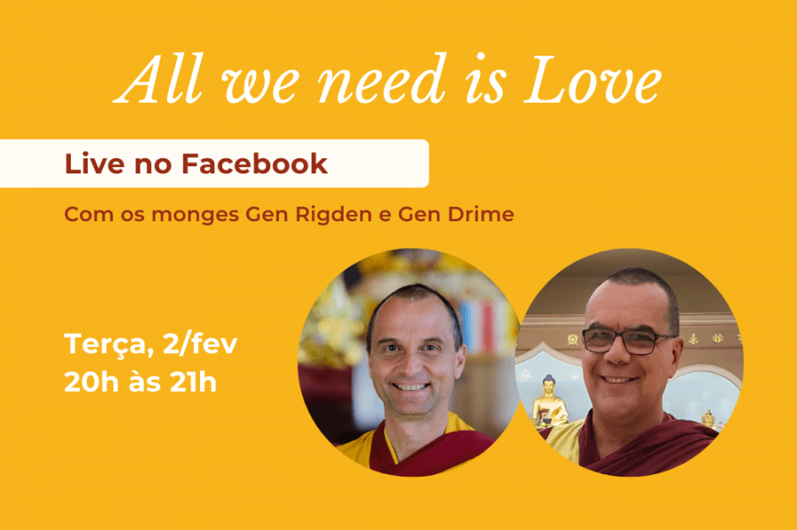 'All we need is Love' - Live no Facebook