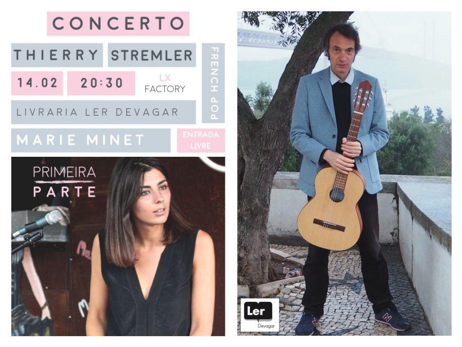 Concerto de Thierry Stremler - Primeira parte Marie Minet
