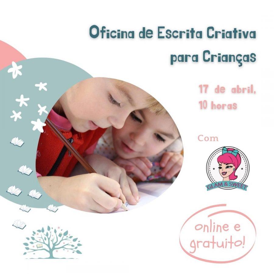 Oficina de escrita criativa para Crianças