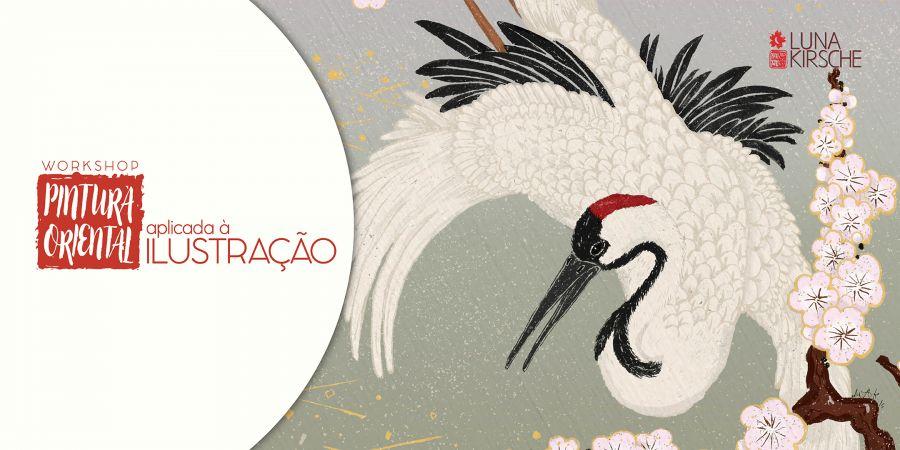 {ESGOTADO} Workshop de Pintura Oriental Aplicada à Ilustração
