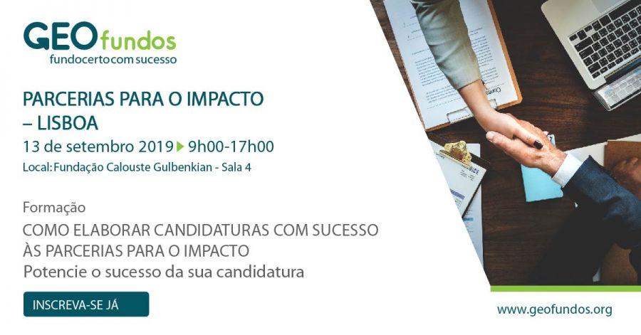 Como elaborar candidaturas com sucesso às Parcerias para o Impacto