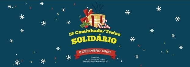 5.ª Caminhada/ Treino Solidário de Natal promovida pelos BRRnightRUNNERS