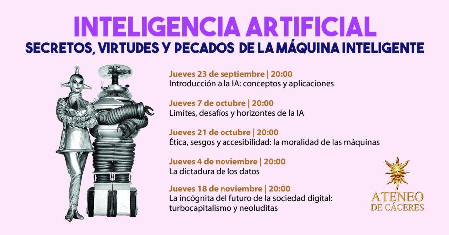 Jornadas sobre inteligencia artificial