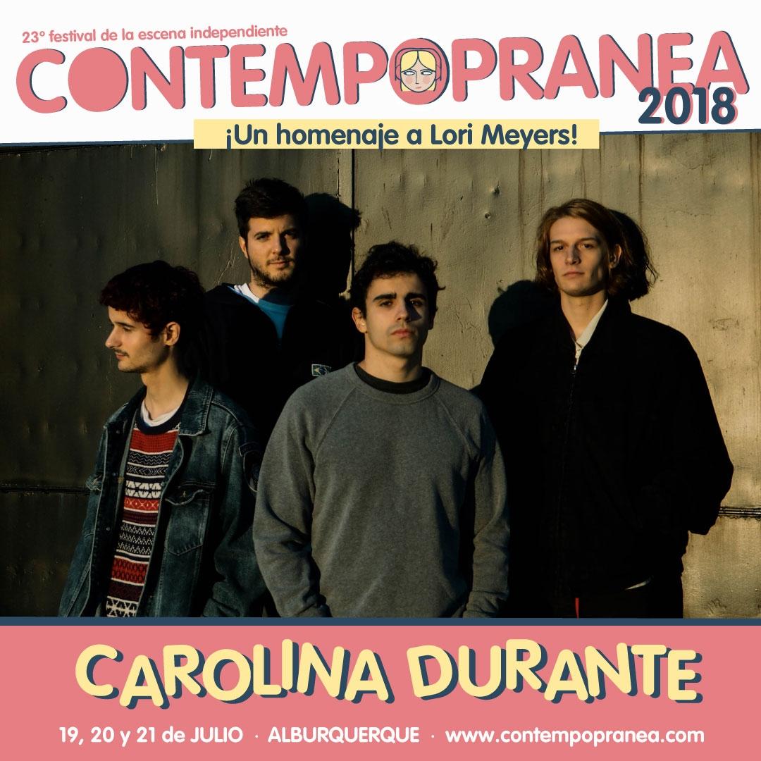 CAROLINA DURANTE // Escenario PASEO DE LAS LADERAS