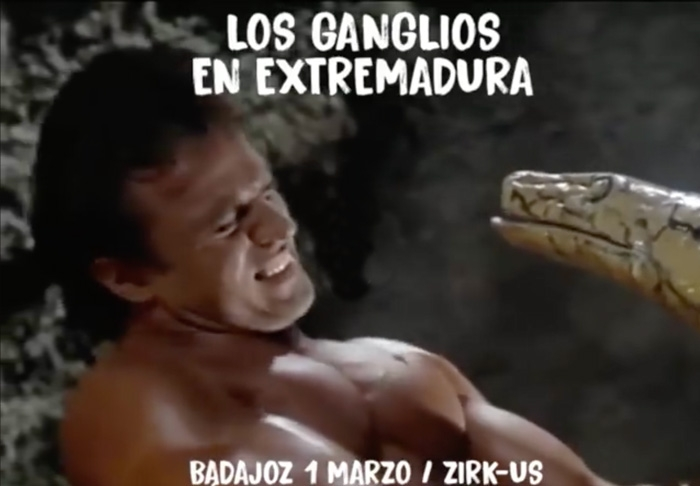 LOS GANGLIOS | Zirk-us (Badajoz)