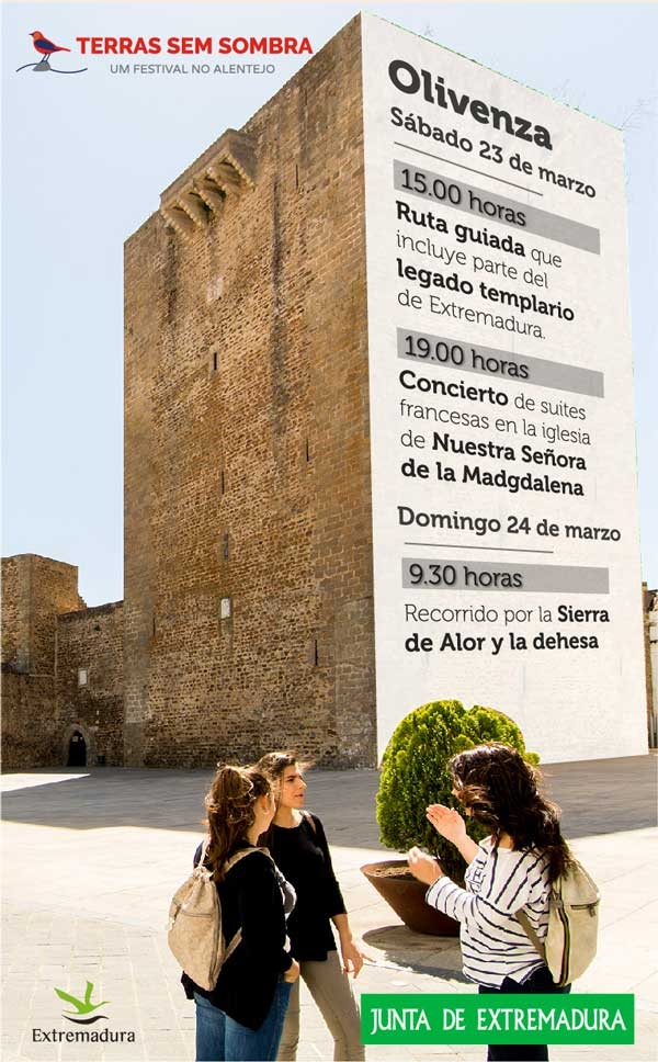 TERRA SEM SOMBRA | Olivenza (Domingo 24 de Marzo)