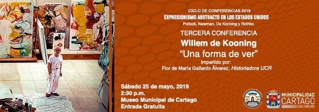 Una forma de ver 3. Willem de Kooning. Expresionismo abstracto en Los Estados Unidos