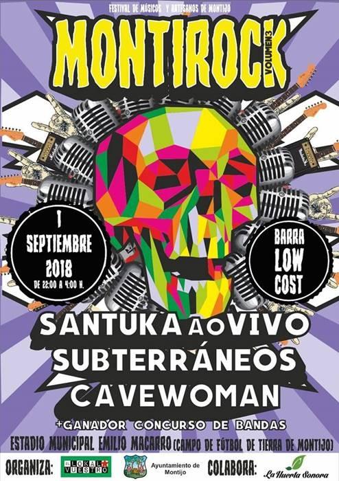 MONTIROCK || Festival de Músicos y Artesanos de Montijo