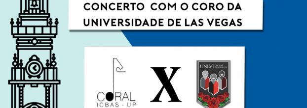 Concerto com o Coral de Biomédicas e University of Las Vegas Choral Ensembles