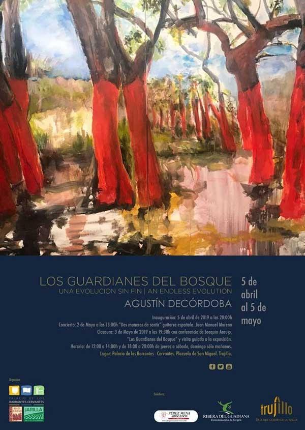 Exposición de pintura 'Los Guardianes del bosque' Agustín Decórdoba