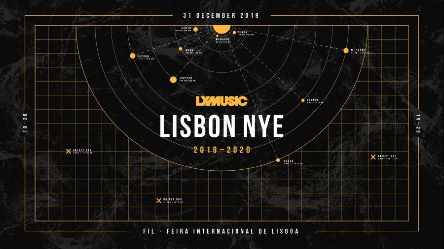 LX MUSIC Lisbon NYE 2019-20
