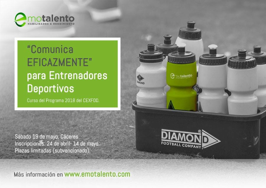 Comunica EFICAZMENTE…para Entrenadores Deportivos