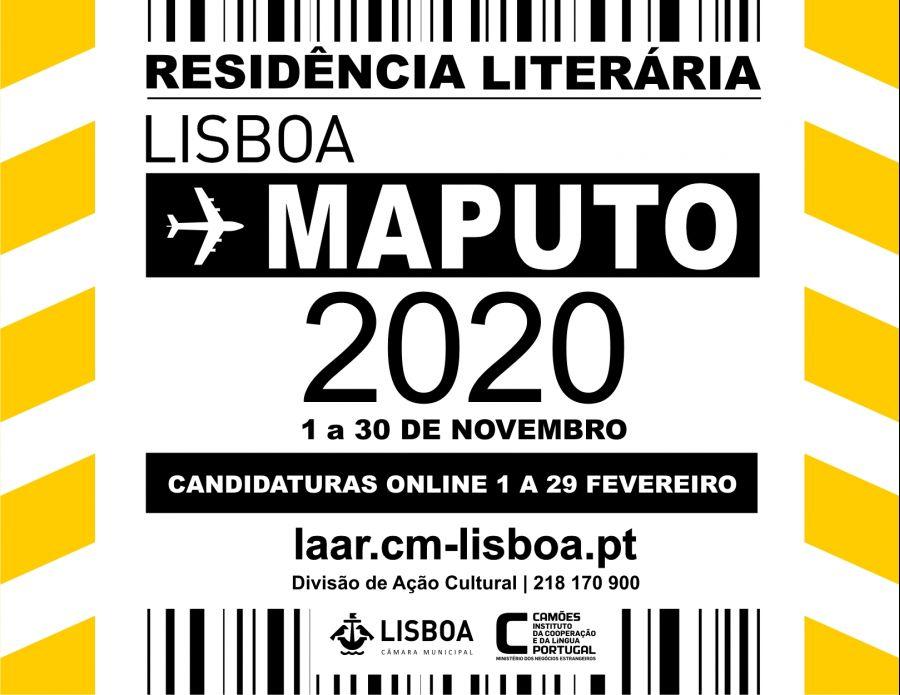 Residência Literária Lisboa > Maputo