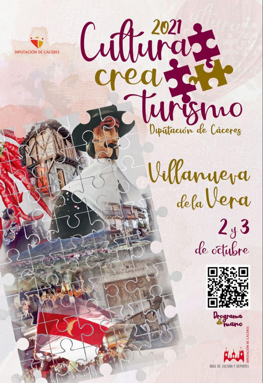 CULTURA CREA TURISMO 2021 / Villanueva de la Vera (2 y 3 Octubre)