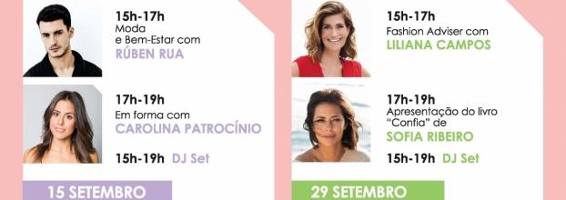 10º aniversário MAR Shopping Matosinhos: Rúben Rua e Carolina Patrocínio partilham conselhos de moda e bem-estar num fim de semana 'carinhoso'