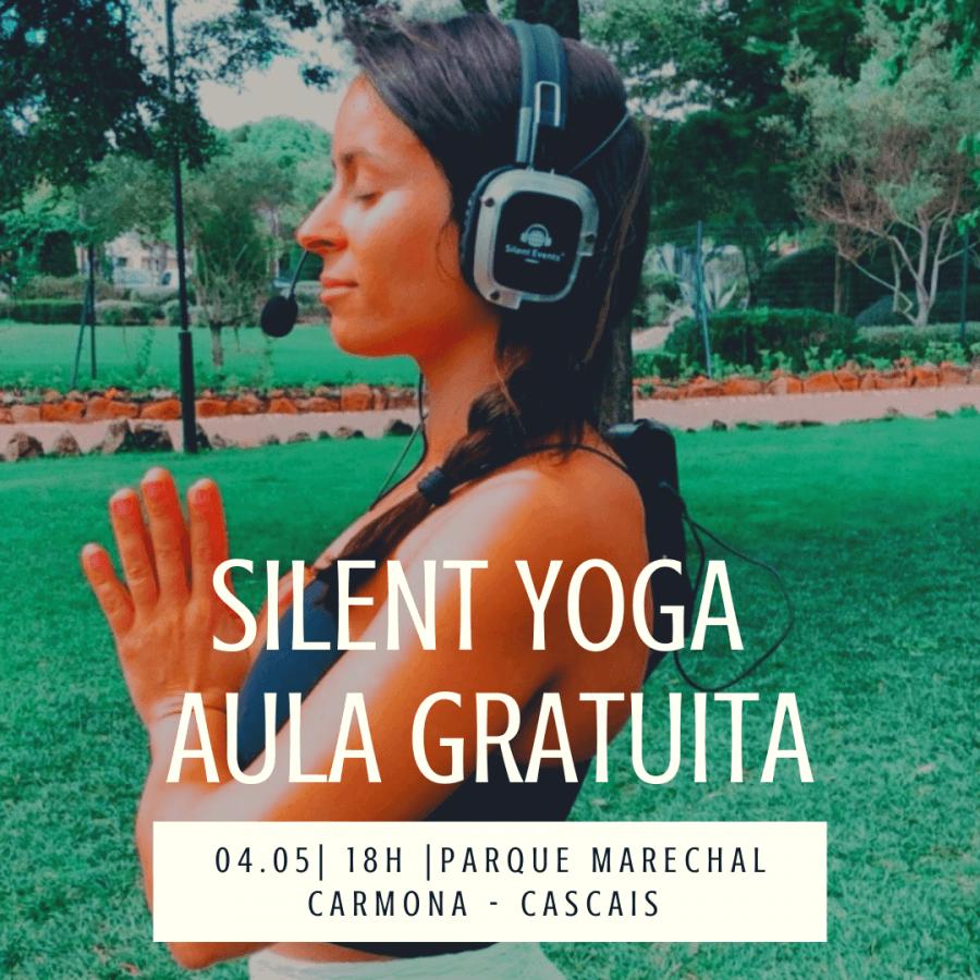 Silent Yoga - Aula Gratuita