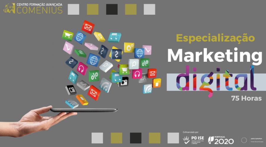 Especialização em Marketing Digital I 75H