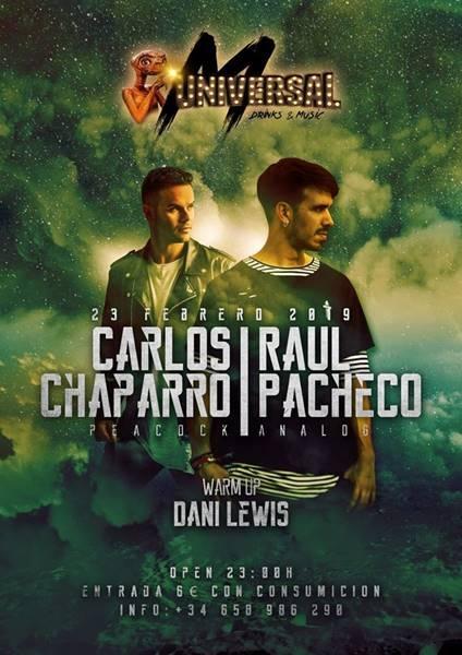 Concierto: Raul Pacheco y Carlos Chaparro