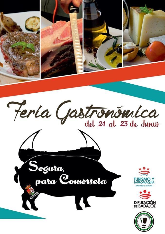 II Feria Gastronómica en Segura de León | 'Segura para comérsela'