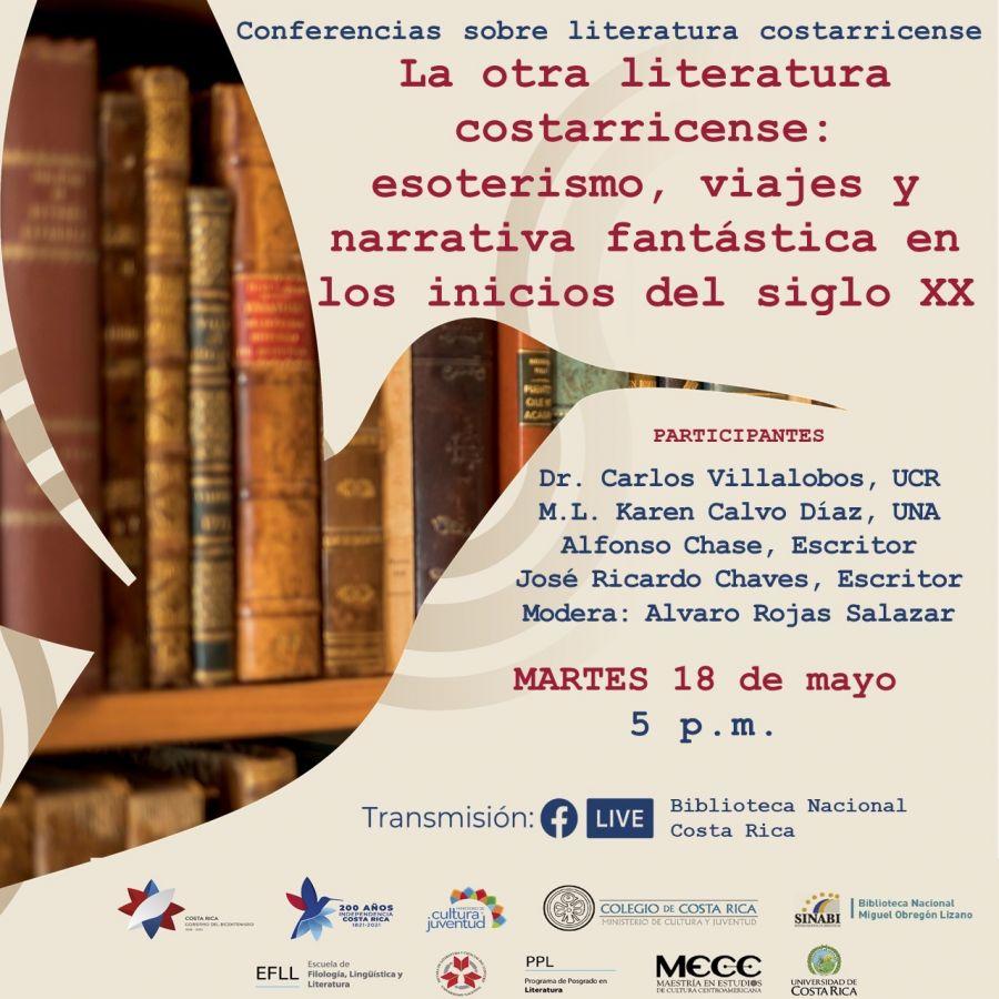 La otra literatura costarricense: esoterismo, viajes y narrativa fantástica en los inicios del siglo XX