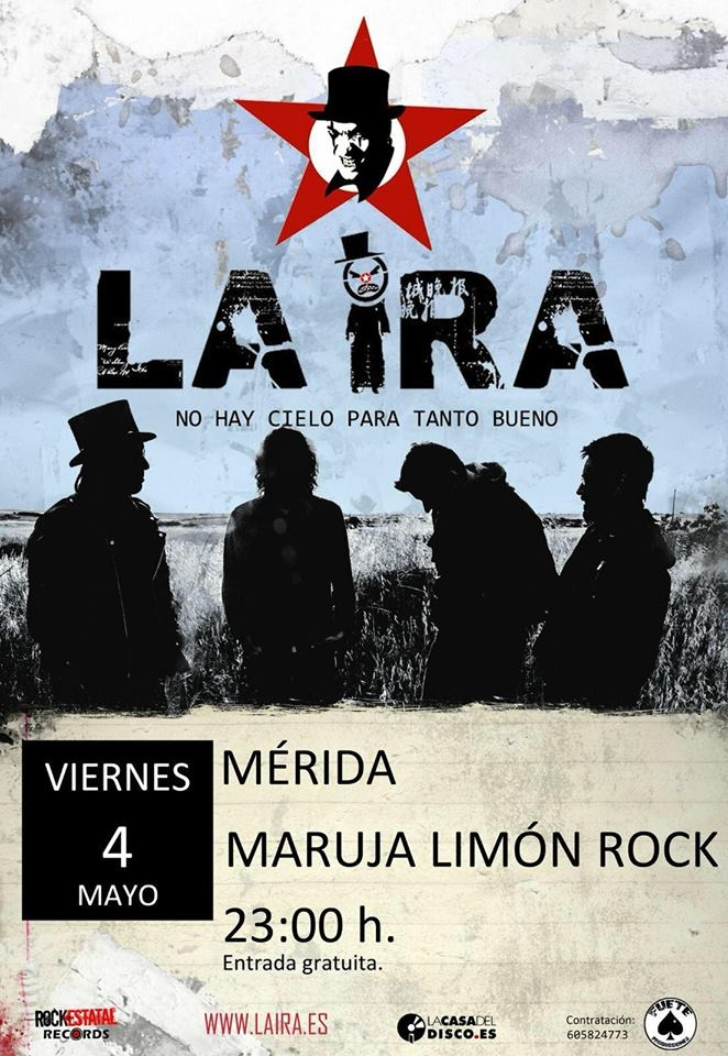 LA IRA en concierto // Maruja Limón Rock