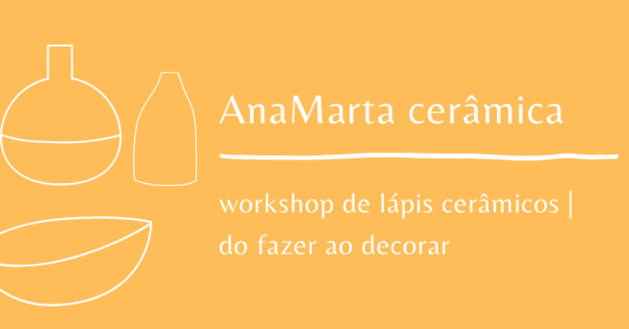 Workshop de lápis cerâmicos | do fazer ao decorar  -  Underglaze pencils | from doing to decorate