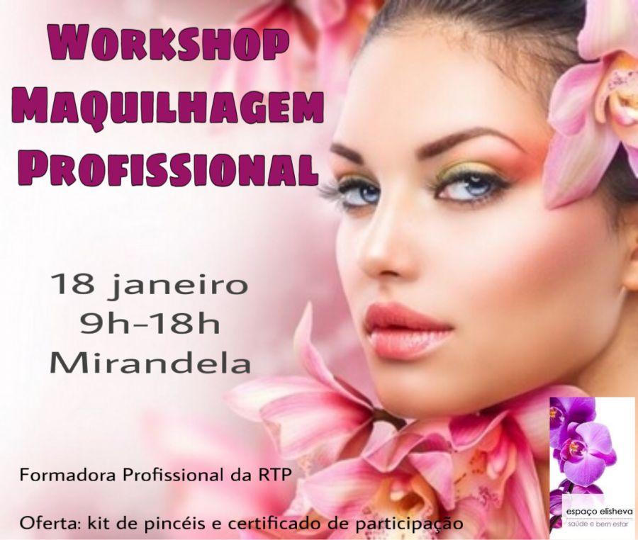 Workshop Maquilhagem Profissional