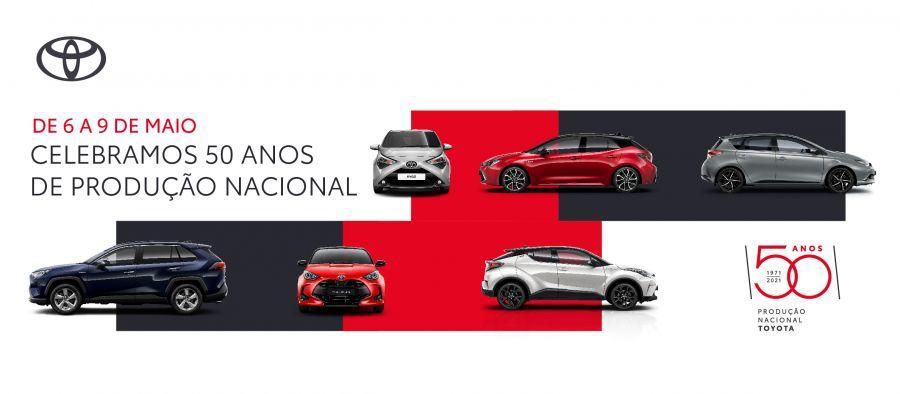 4 dias de celebração com a Toyota.