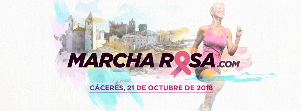 1ª Marcha Rosa y 1ª Carrera de la Mujer de Cáceres