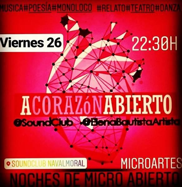A Corazón Abierto // MICRO ABIERTO en Sala Soundclub