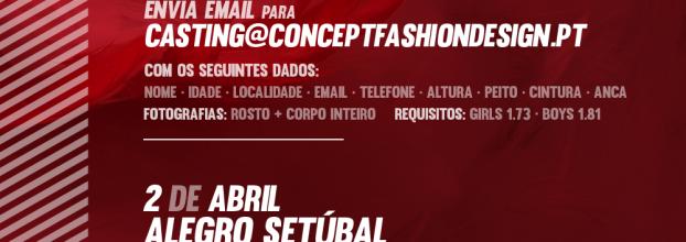 Casting para Manequins para o Concept Fashion Design Setúbal