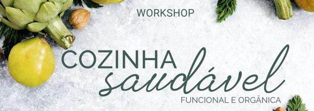 Workshop Cozinha Saudável - Funcional e Orgância