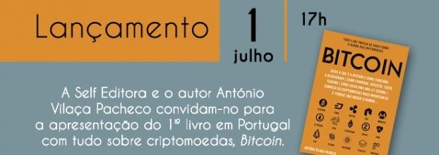 Lançamento do livro 'Bitcoin' - Fnac Almada Forum