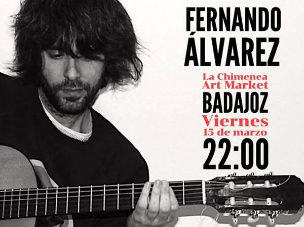 Fernando Álvarez en Las Noches de Chimenea