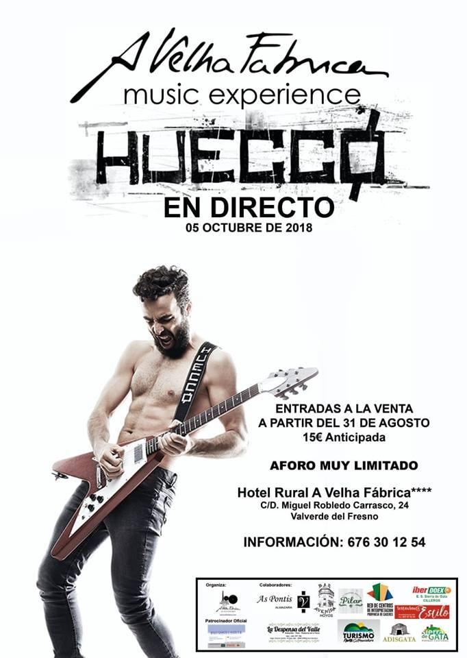 Music Experience || HUECCO en directo