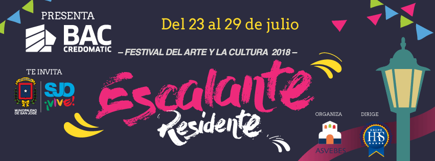 Escalante Residente-Festival del Arte y la Cultura 2018