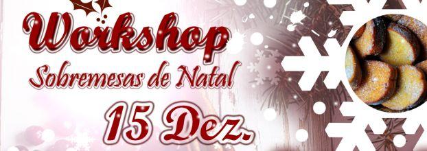 Workshop de Sobremesas de Natal