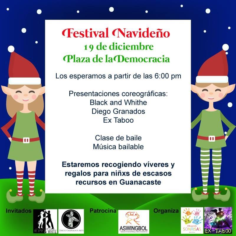 Festival navideño. Coreografías, bailes y más
