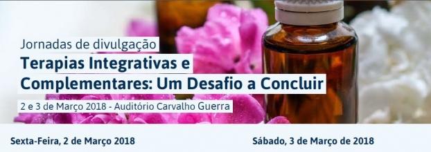 """Jornadas de Divulgação: Terapias Integrativas e Complementares - """"Um Desafio a Concluir"""""""