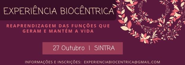 Experiência Biocêntrica   Workshop