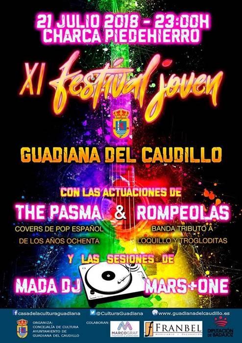 XI Festival Joven Guadiana del Caudillo