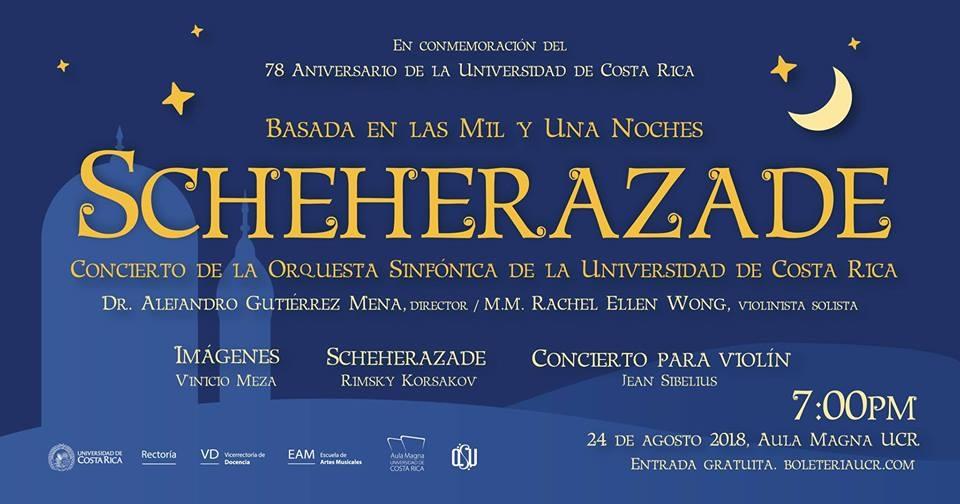 Orquesta Sinfónica de la UCR y solista internacional