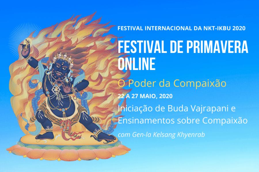 Festival de Primavera On-line 'O Poder da Compaixão'