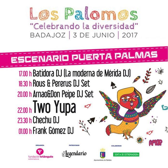 ESCENARIO PUERTA PALMA // Los Palomos 2017